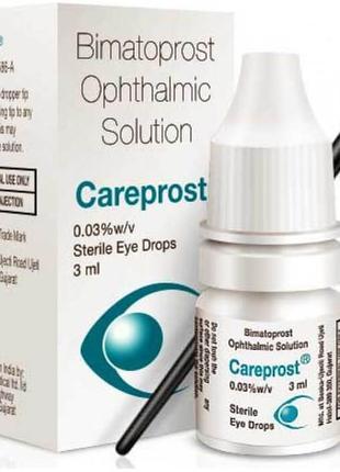 Средство для роста и укрепления ресниц careprost bimatoprost ophthalmic solution - отзывы
