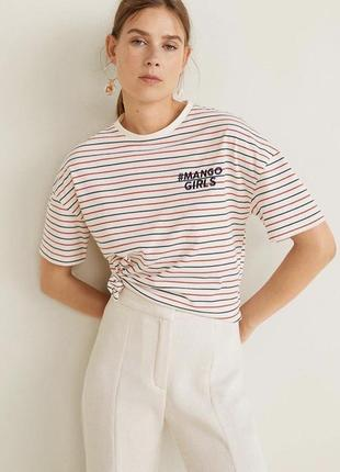 Топ, футболка  mango
