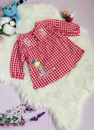 Блузка mille малышке 2-3 года