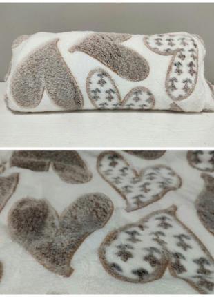 Покрывало плед микрофибра двуспальный