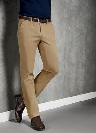 Стильные мужские хлопковые брюки livergy premium евро 50