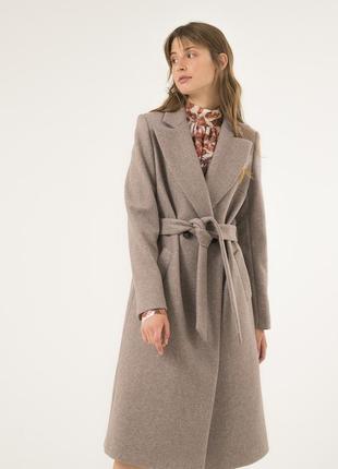 Женское пальто season трендового цвета кэмел