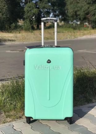 Акция ! большой чемодан пластиковый из поликарбоната / валіза велика пластикова