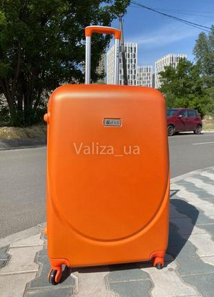 Акция ! средний чемодан пластиковый из поликарбоната / валіза середня пластикова