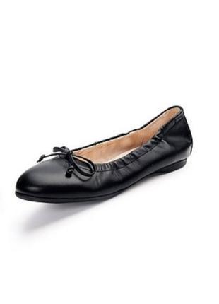 Мега удобные кожаные балетки,туфли 38-38.5р gabor