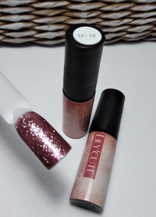 Гель-лак lc-12, розовая  коллекция.