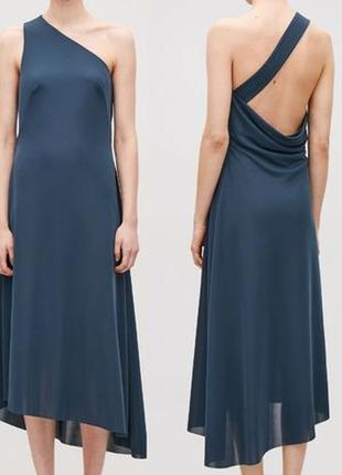 Платье асимметрического кроя cos, размер eur l (14/16)
