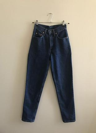 Высокие винтажные джинсы мом (mom) levi's