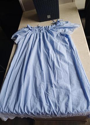Легчайшее  летнее платье свободного кроя