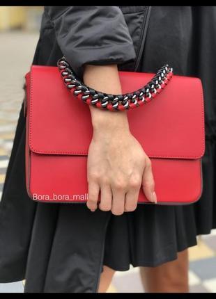 🇮🇹 шкіряна сумочка італійського виробника (5172)