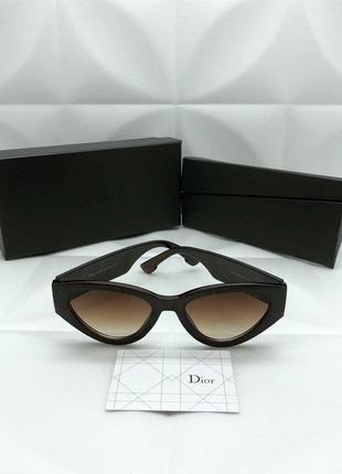 Солнцезащитные очки в стиле dior🌹😎лисички😘