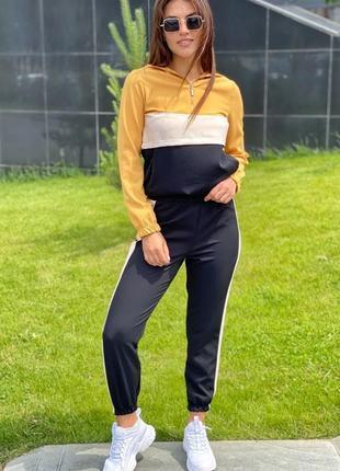 Стильний спортивний костюм худи и джогери yare