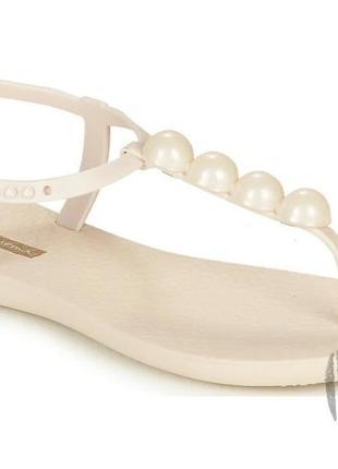 Женские сандалии ipanema class glam ii beige 26207-249114 фото