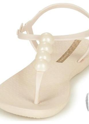 Женские сандалии ipanema class glam ii beige 26207-249115 фото