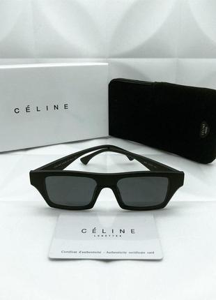 Солнцезащитные очки в стиле celine 🔥матовые крутышки 🔥