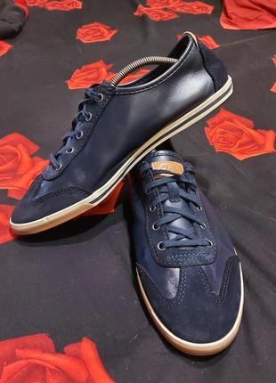 Кеды кроссовки туфли clarks england  cushion plus 44p кожаные