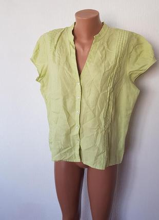 100% льон 🔥🔥шикарна блуза 💥💥