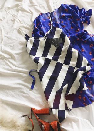 Красива сукня в полоску new look/нова
