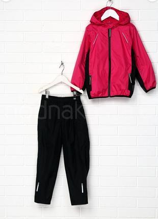 Крутой костюм crivit куртка ветровка дождевик штаны светоотражатели