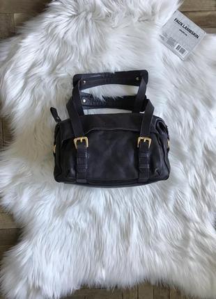 Винтажная кожаная сумка oriano