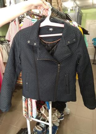 Куртка демисезонная косуха стёганая от broadway