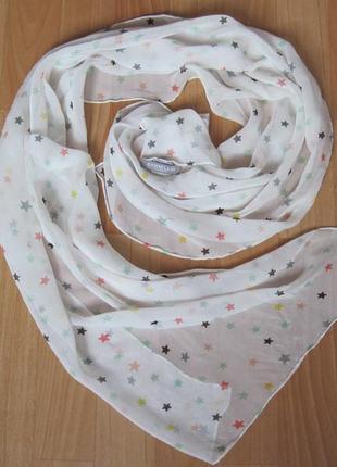 Красивый шелковый шарф от бренда codello.оригинал