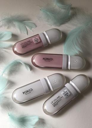 Lip volume kiko milano максімайзер для губ блиск