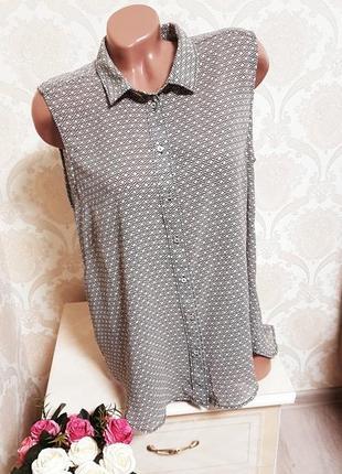 Летняя легкая шифоновая блуза