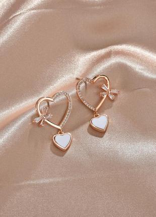 Элитная бижутерия серебро 925 стерлинговое сердца / большая распродажа!