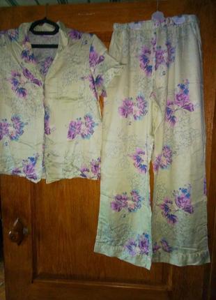 Пижама натур.ткань