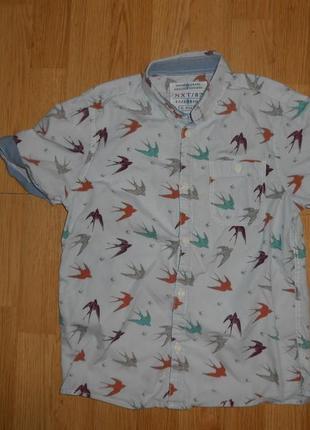 Рубашка на мальчика 9 лет