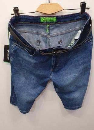 Мужские джинсовые шорты (увеличенные размеры)