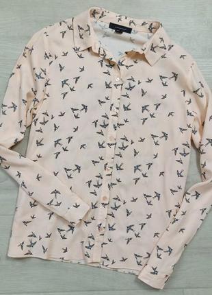 Рубашка в птички