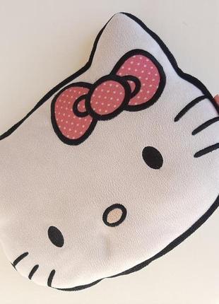 Детская подушка kitty декоративная подушечка кошечка hello kitty