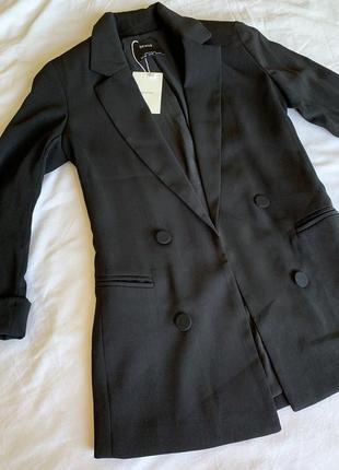 Піджак чорний жіночий, жакет чорний.