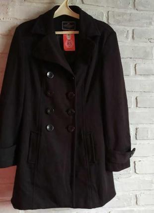 Трикотажное пальто clockhouse(l)