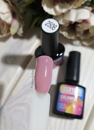 №2506 гель лак 10 мл rosalind розовая дымка эмаль b/b probeauty