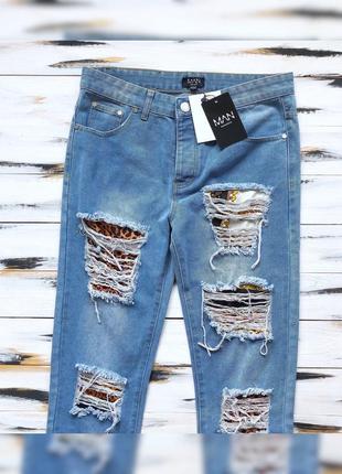 Boohoo man джинсы