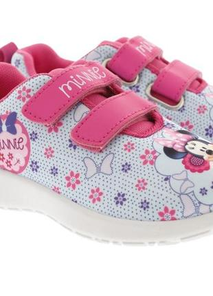 """Удобные кроссовки для девочки kondor (польша) """"minnie"""" минни маус"""