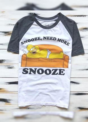 Next x the simpsons футболка