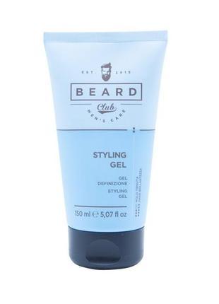 Beard club гель для волос средней фиксации