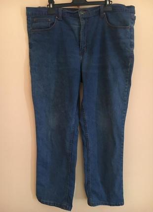 Батал большой размер! стильные котоновые джинсы джинсики брюки штаны