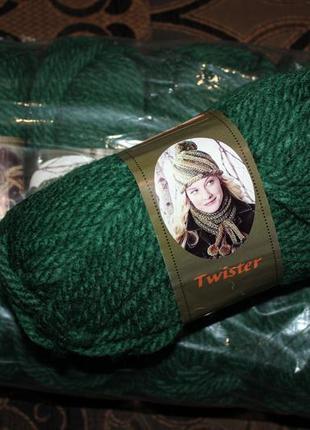 Пряжа для вязания twister diva