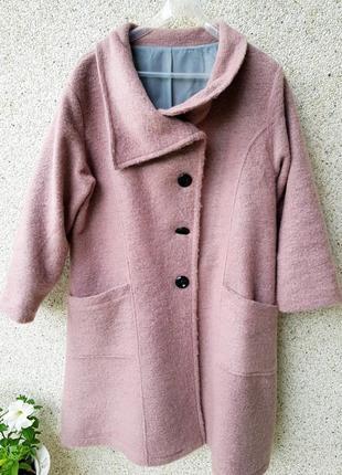 Пальто с валяной шерсти