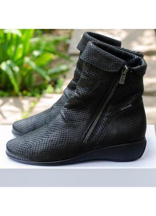 Кожаные полусапоги mephisto seddy mamba полусапожки ботинки 36,5-37р. 23,5 см.