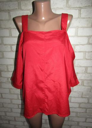 Красивая блуза р-р л-14 бренд boohoo