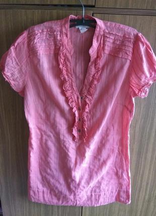 Длинная блуза под пояс