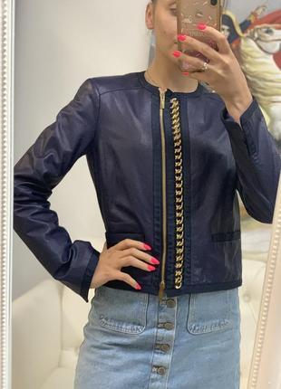 Кожаная куртка blumarine оригинал