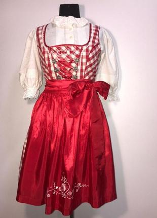 Дирндль 46 баварская тирольская девушка винтаж пастушка октоберфест