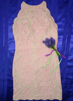 Платье с открытой спиной angel biba